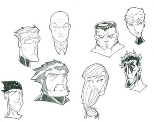 Ultimate X-Men by jaal