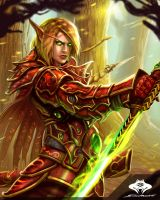 ...Blood Elf Blademaster II... by ShadowPriest