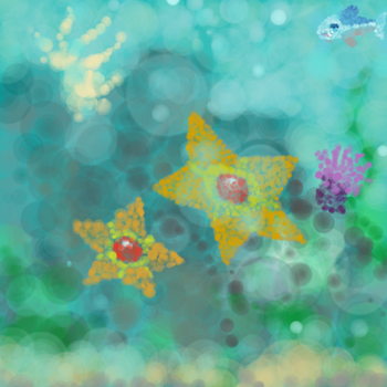 Staryu Painting by AmberLepu