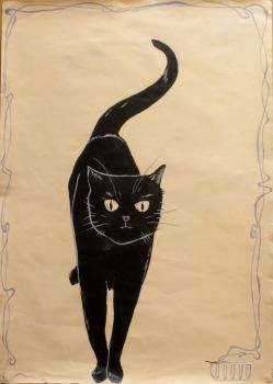 Le Chat Noir by i-love-alice