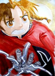 The Boy with a Fullmetal Arm by AnneyBaker
