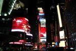 Times Square at Night by jamieoliver22