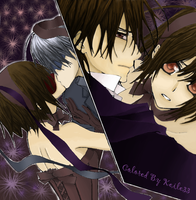 Vampire Knight's Love Triangle by keile33