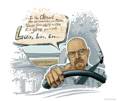 Fan Art. Breaking Bad / Walter White. by vincvincit