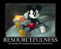 Resourcefulness by Checker-Bee