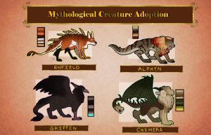 Mythological Creature Adoption Auction::OPEN by ScreamQueen1991