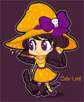 Chibi Witch by cute-loot