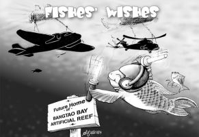 Fishes' Wishes by sethness