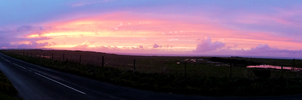 As the Sun Sets [Panorama] by divafica