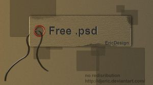 Stickers psd free by 3DEricDesign