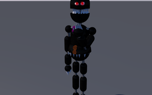 Nightmare Fnaf 4 C4D RIG by PuppetFactory