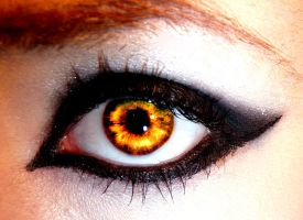 Fiery Eye by Melyssah6