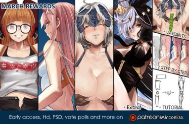 March rewards preview by Yo--Nashi