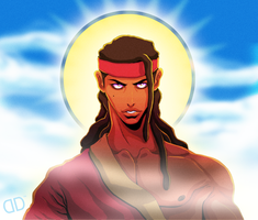 YOUNG JESUS CHRIST by David-Dennis