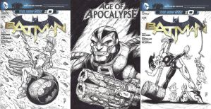 Villains Month Covers Batch 2 by WEXAL