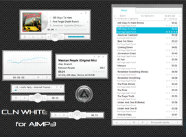 CLN White for AIMP3 by xkL1BuR