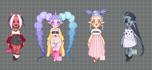 [OPEN] Harajuku Onis (Set Price) by MMXII