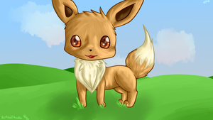 Eevee by Zephyrift