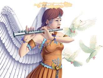 Angelic Flute by Altarior