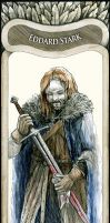 Eddard Stark - A Song Of Ice And Fire by ETdecora