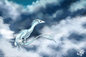 Cloud Dragon - Mei by calger459