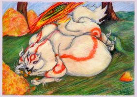 Ammy and golden peach 2 of 5 WG by SSsilver-c