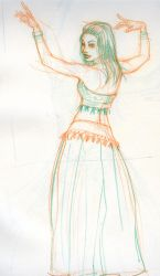 May Belly Dancer 21 by ChristineAltese