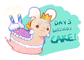 [Closed] HBDAY 3 Auction: Birthday Cake! by toripng