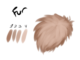 Free Fur Brush for Clip Studio Paint/Manga Studio by RotenBlut