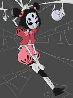 Muffet Webbed by nivek15
