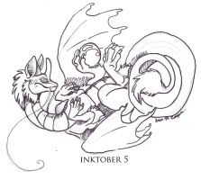 Inktober2016 Pearlcatcher from FR by Shadowind
