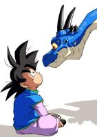 DBZ: Staring contest by Risachantag
