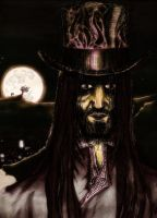 Scrimm Moon and Blacksgate by A-Lime-Went-Owlish