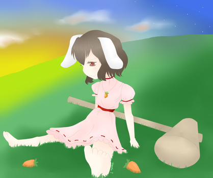Tewi Hill by coifonii