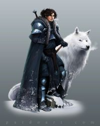 Concept Art - Jon Snow by pardoart