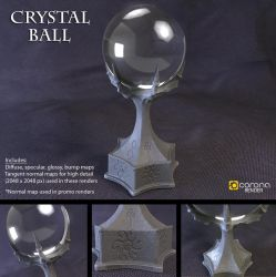 Free 3D Model: Crystal Ball by LuxXeon