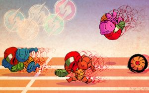 Metroid Race by fugushima