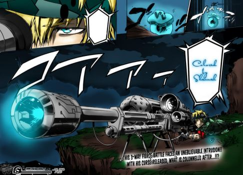Colonello- Katekyo Hitman Reborn! Manga Color by Shannah67