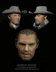 Josh Brolin Jonah Hex - Paint by No-Sign-of-Sanity