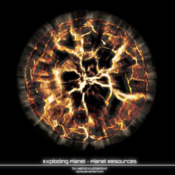 Planet Resources - Exploding by Qzma