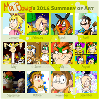 2014 Summary of Art by MrBowz