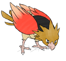 Draw'em All Challenge: 021 Spearow