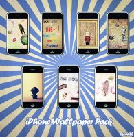 iPhone Wallpaper Pack by edLk by edLk