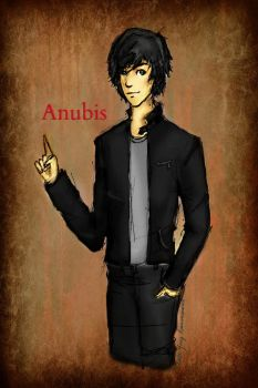 Anubis - Day 30 by Ravenmoonlace