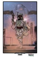Boba Fett by WillSliney