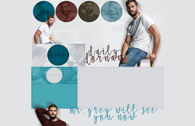 Ordered Layout ft. Jamie Dornan by Kate-Mikaelson