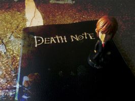 Death Note Und Kira by crisisnyc