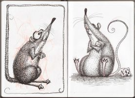 Sketchbook - Rats II by nik159