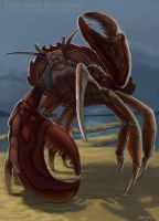 Giant Stone Crab by CharReed