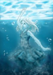 How I Became The Sea by Bella-Anima